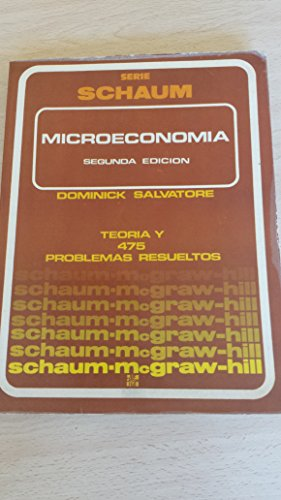 9780070545144: Schaum's Outline of Theory and Problems of Microeconomic Theory (Schaum's Outlines)