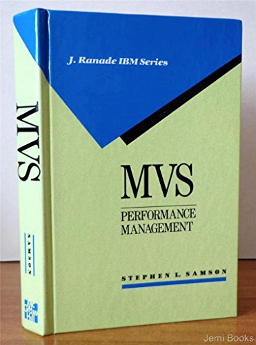 9780070545281: MVS Performance Management: Mechanisms and Methods (J Ranade Ibm Series)