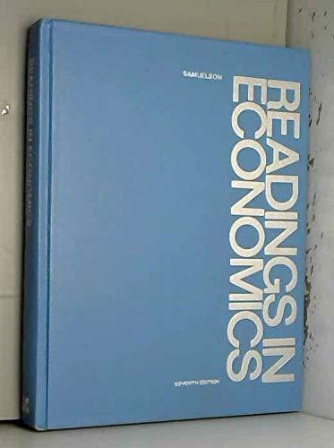 9780070545427: Readings in Economics