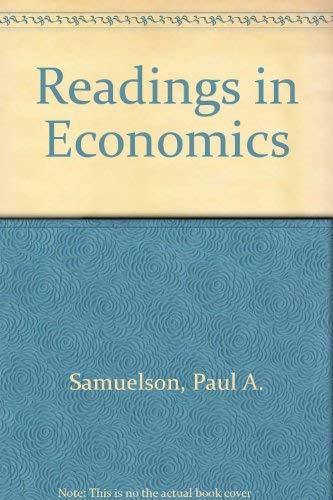 9780070545434: Readings in Economics