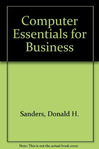 9780070546479: Computer Essentials for Business
