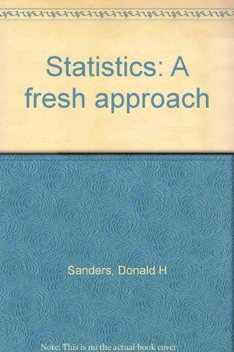 9780070546677: Statistics: A fresh approach