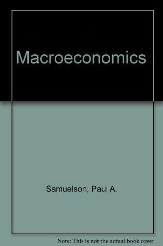 9780070548770: Macroeconomics