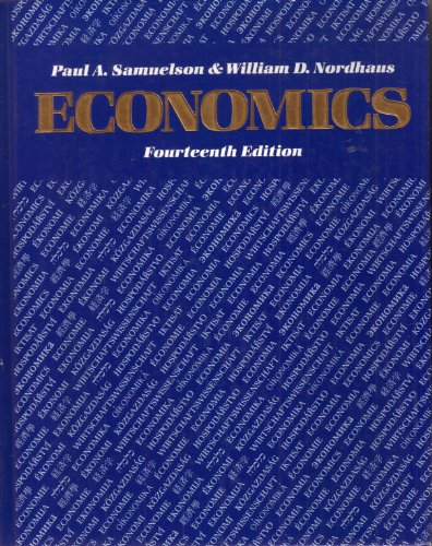 Economics: Paul Anthony Samuelson;