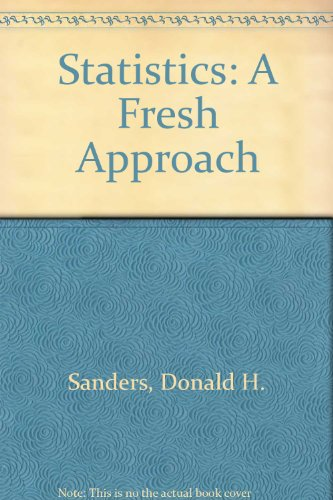 9780070548817: Statistics: A Fresh Approach
