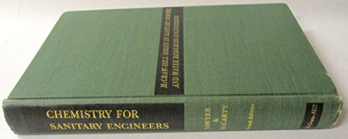 9780070549708: Chemistry for Sanitary Engineers