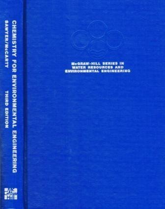 Chemistry for Environmental Engineering