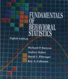 9780070549852: Fundamentals of Behavioral Statistics