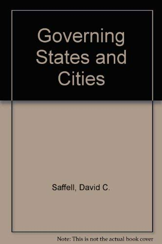 9780070550001: Governing States and Cities