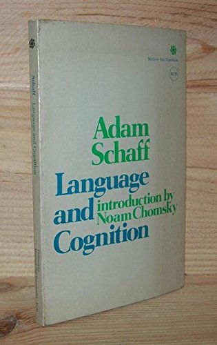 9780070550810: Language and Cognition