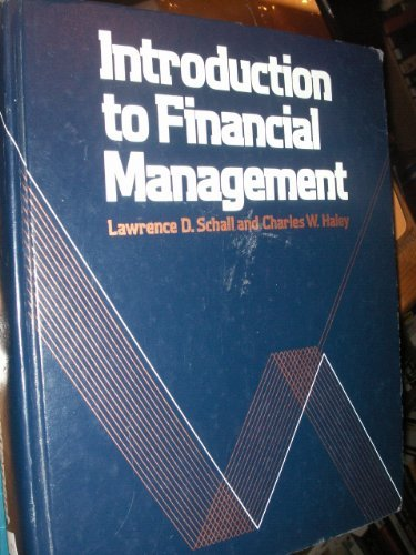 9780070551008: Introduction to financial management (McGraw-Hill series in finance)
