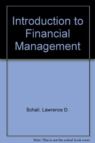 9780070551060: Introduction to financial management (McGraw-Hill series in finance)