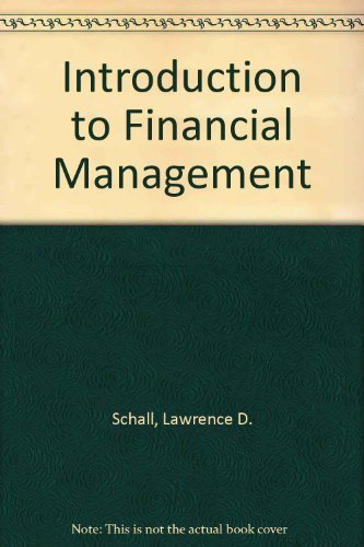 9780070551091: Introduction to financial management (McGraw-Hill series in finance)