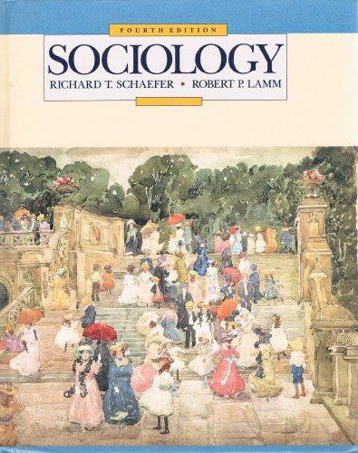 Sociology by schaefer richard t lamm robert p abebooks fandeluxe Images