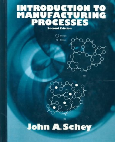 9780070552791: Introduction to Manufacturing Processes
