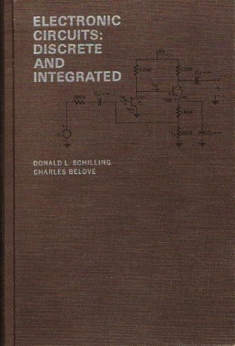 9780070552890: Electronic Circuits: Discrete and Integrated (Electrical & Electronic Engineering)