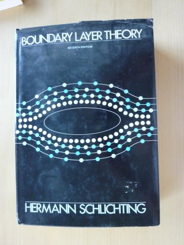 Boundary-Layer Theory: H. Schlichting