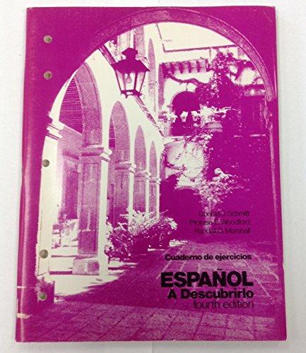 9780070553774: Español, a descubrirlo: Cuaderno de ejercicios