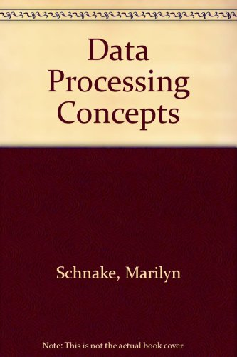 9780070553903: Data Processing Concepts