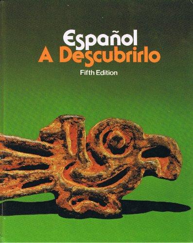 9780070554047: Espanol: A Descubrirlo