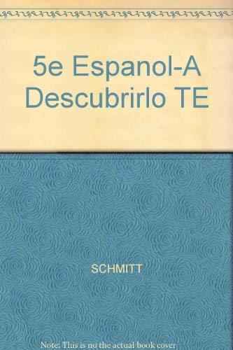 9780070554054: 5e Espanol-A Descubrirlo TE