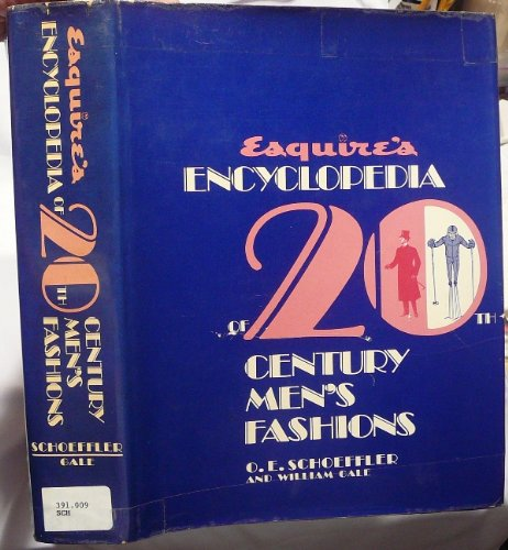 9780070554801: Esquire's Encyclopedia of 20th Century Men's Fashions