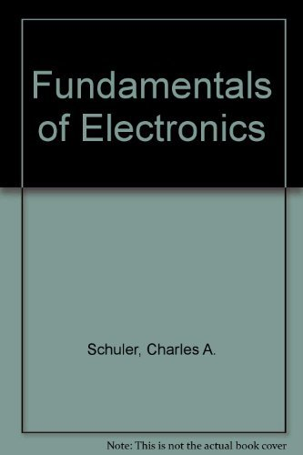 9780070555723: Fundamentals of Electronics (Basic skills in electricity and electronics)
