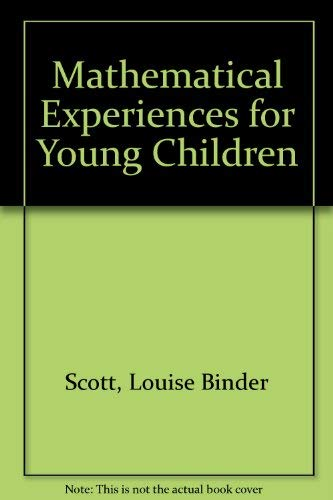 9780070555853: Mathematical Experiences for Young Children