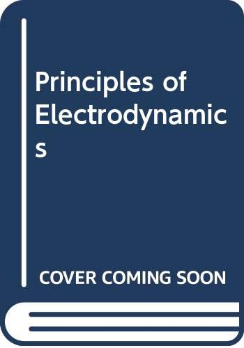 9780070556751: Principles of Electrodynamics (International series in pure and applied physics)