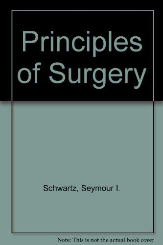 9780070557352: Principles of surgery