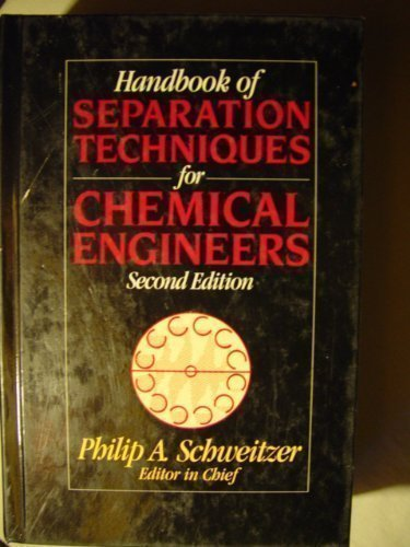 9780070558083: Handbook of Separation Techniques for Chemical Engineers