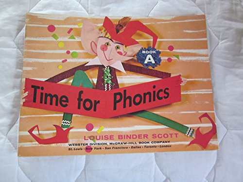 9780070558458: Time for Phonics, Book A, Grade 1