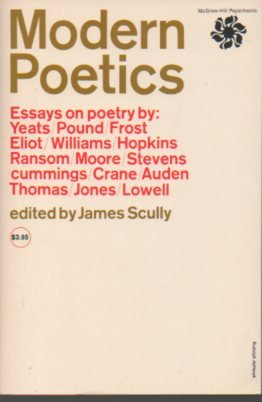 9780070558724: Modern Poetics: Essays on Poetry