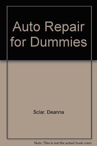 9780070558786: Auto Repair for Dummies
