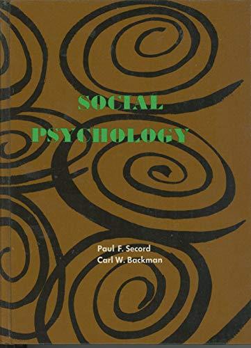 9780070559127: Social Psychology