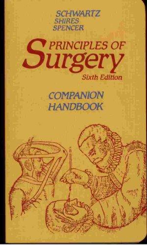 9780070560550: Principles of Surgery: Companion Handbook (Companion handbooks series)