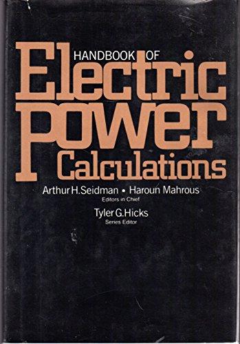 9780070560611: Handbook of Electric Power Calculations
