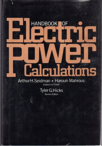 9780070560611: Handbook of Electric Power Calculations