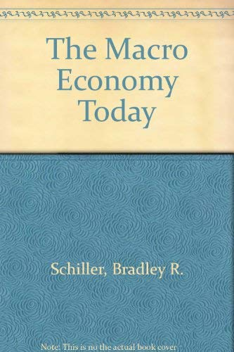 9780070561687: The Macro Economy Today
