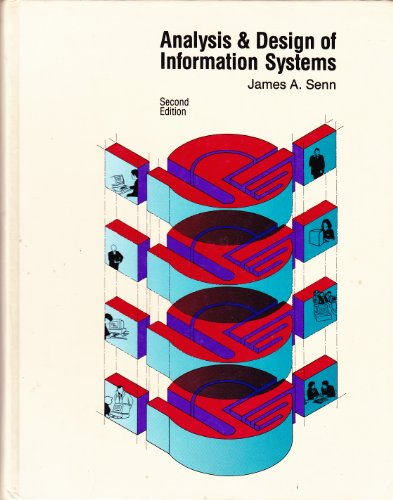 9780070562363: Analysis and Design of Information Systems