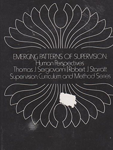 9780070563100: Emerging Patterns of Supervision: Human Perspectives