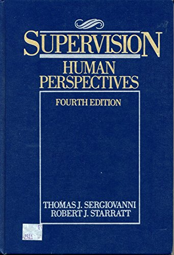 9780070563131: Supervision: Human Perspectives