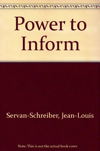 9780070563179: Power to Inform - Media: The Business of Information