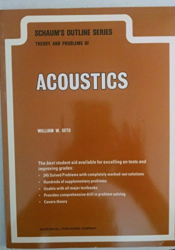 Theory and Problems of Acoustics