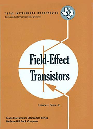 9780070563551: Field Effect Transistors
