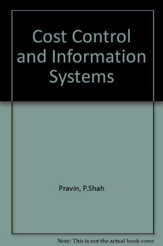 9780070563698: Cost Control and Information Systems