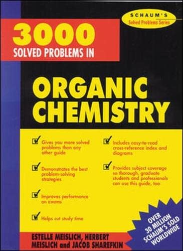9780070564244: 3000 Solved Problems in Organic Chemistry (Schaum's Solved Problems)
