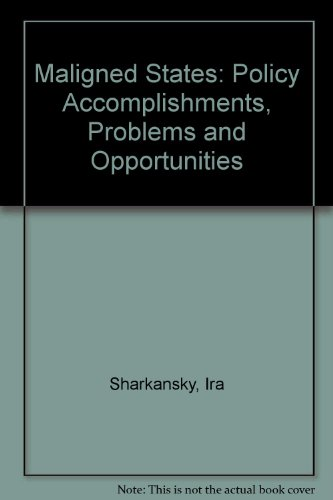 9780070564329: The Maligned States: Policy Accomplishments, Problems, and Opportunities