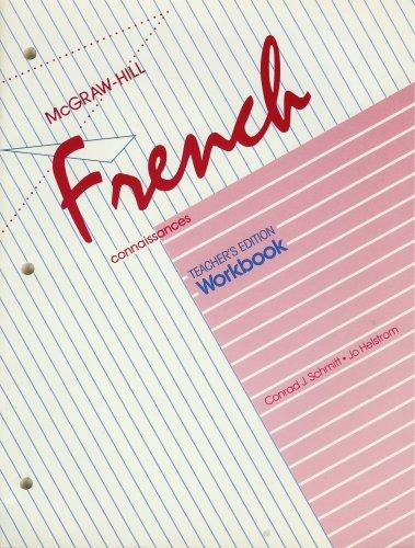 9780070564589: McGraw-Hill French (Connaissances, Teacher's Edition Workbook)