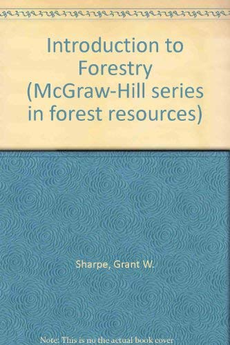 9780070564800: Introduction to Forestry (McGraw-Hill series in forest resources)